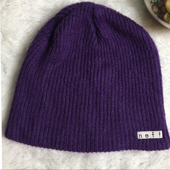 274b87e799aa3 NEFF Beanie - Purple. M 5b5699b3f30369345b8f95a0